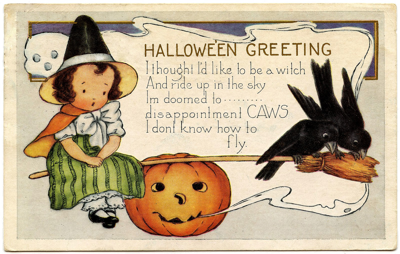 16 Cute Witch Halloween Pictures! - The Graphics Fairy