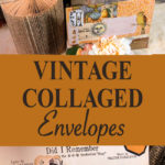 Vintage Collaged Envelopes Pin