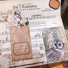 Vintage Collaged Envelopes Feature