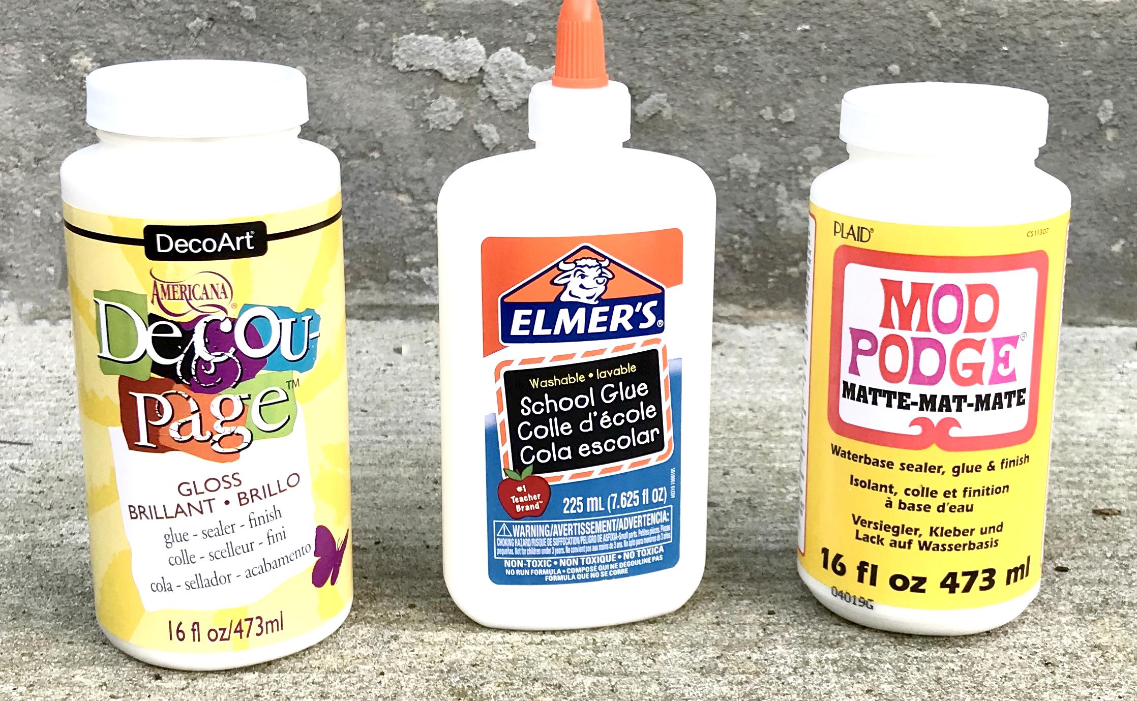 Decoupage Glue and Mediums