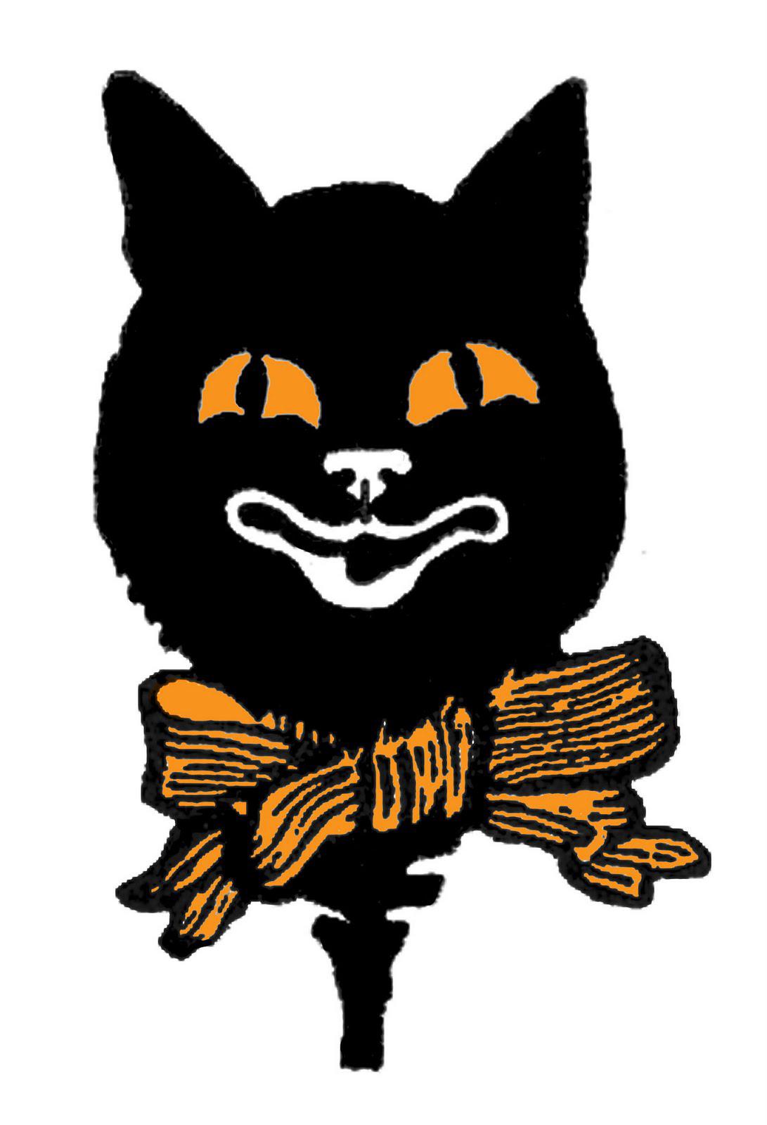 14 Black Cat Clipart - Halloween! - The Graphics Fairy
