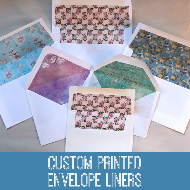 Custom Lined Envelope Tutorial