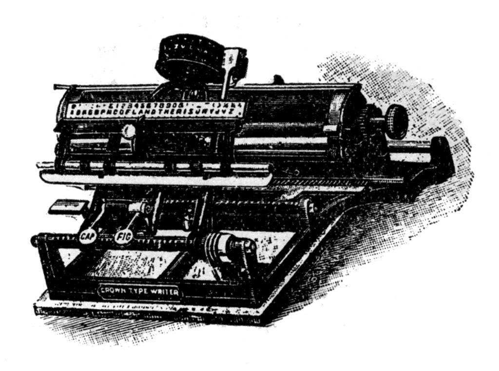 Typewriter Vintage Image