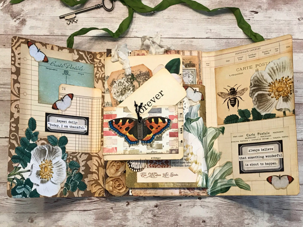 Tri-fold Page Art Journal