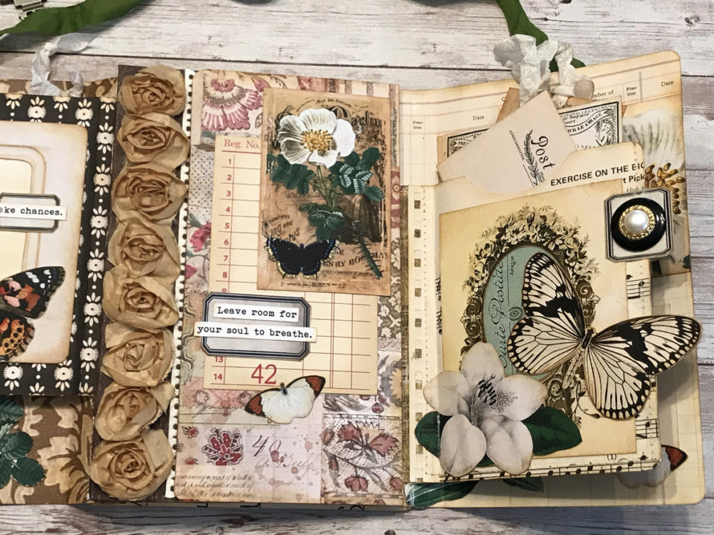 Vintage Art Journal Page