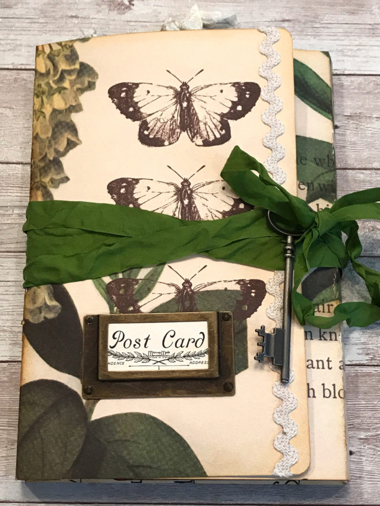 Butterfly Art Journal Cover