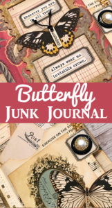 Butterfly Junk Journal Tour