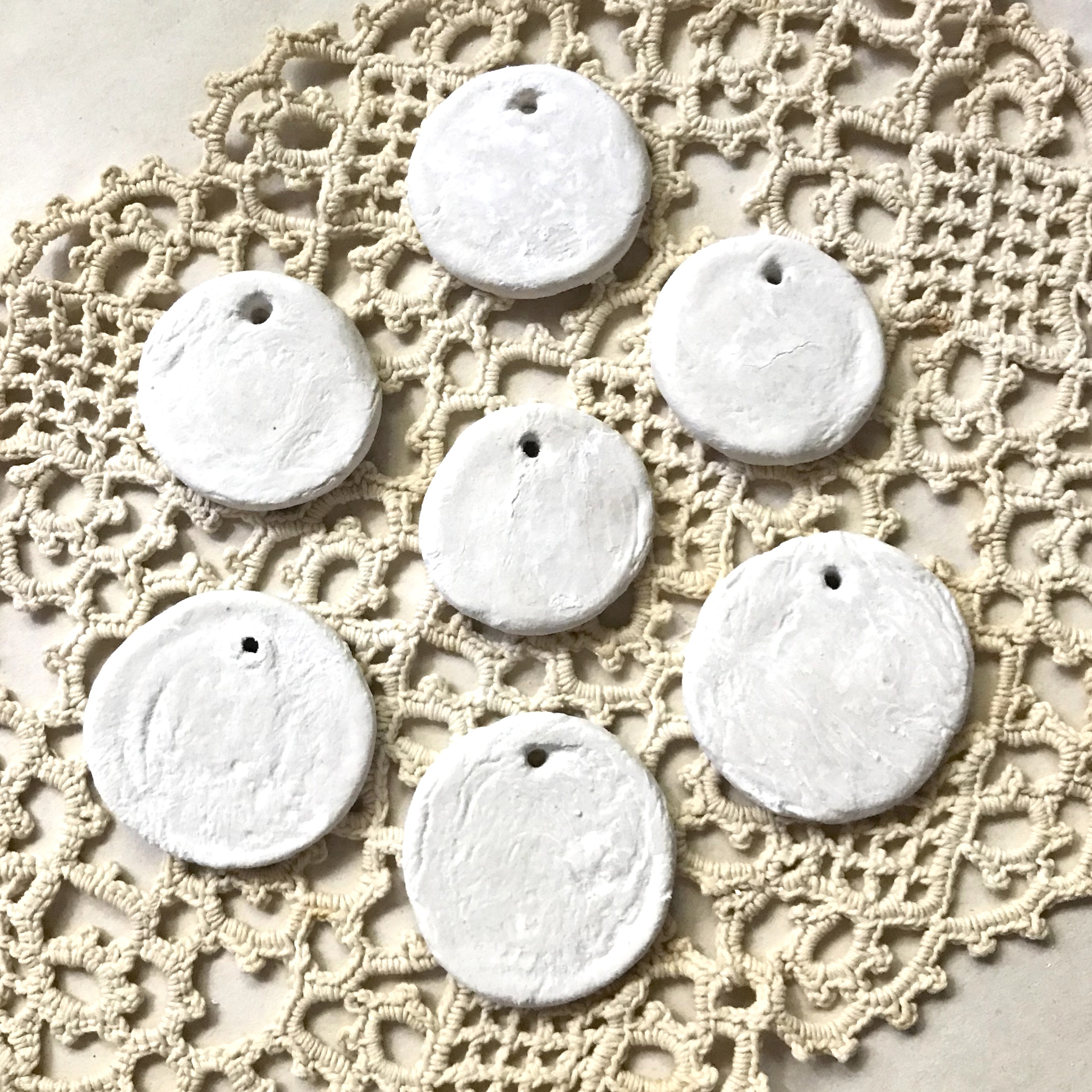 DIY Air Dry Paper Clay Ornaments