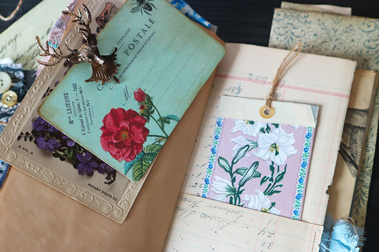 Eclectic Junk Journal Notebook