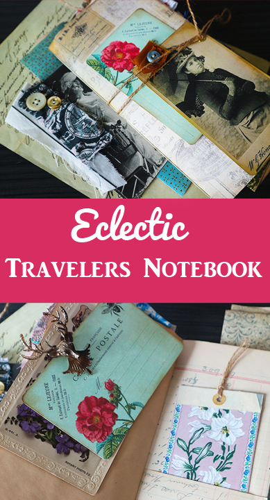Eclectic Travelers Notebook