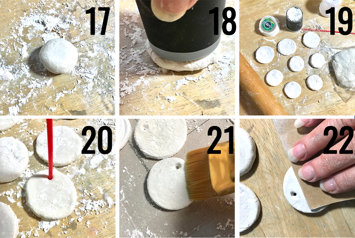Creating DIY Paper Clay Ornaments