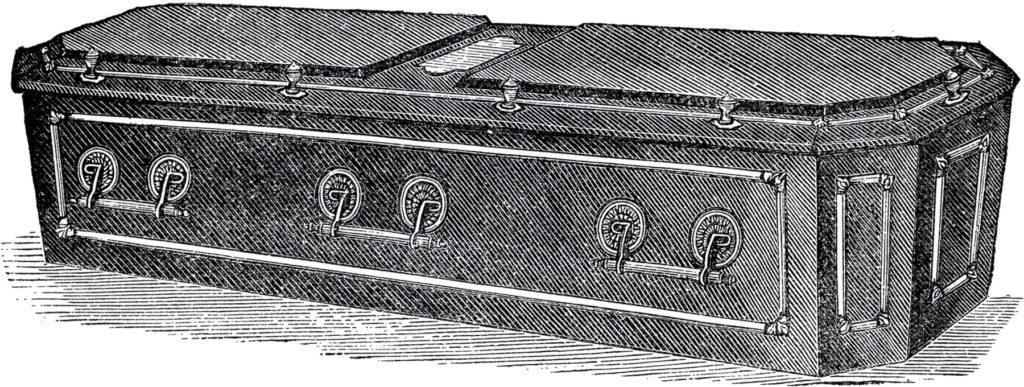 Halloween Casket Clipart