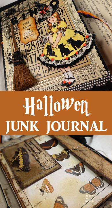 Halloween Junk Journal Tour