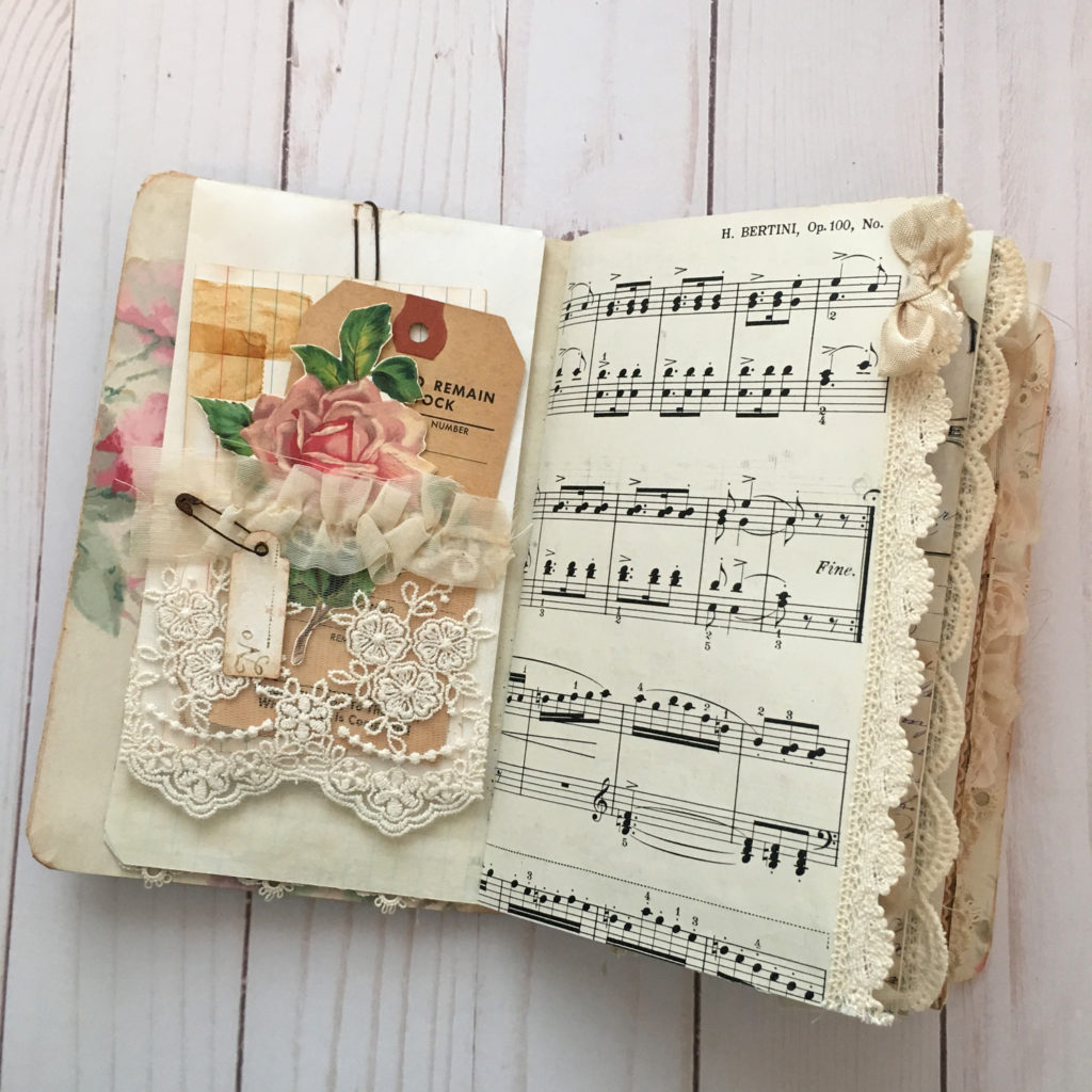 Roses Scrap Journal