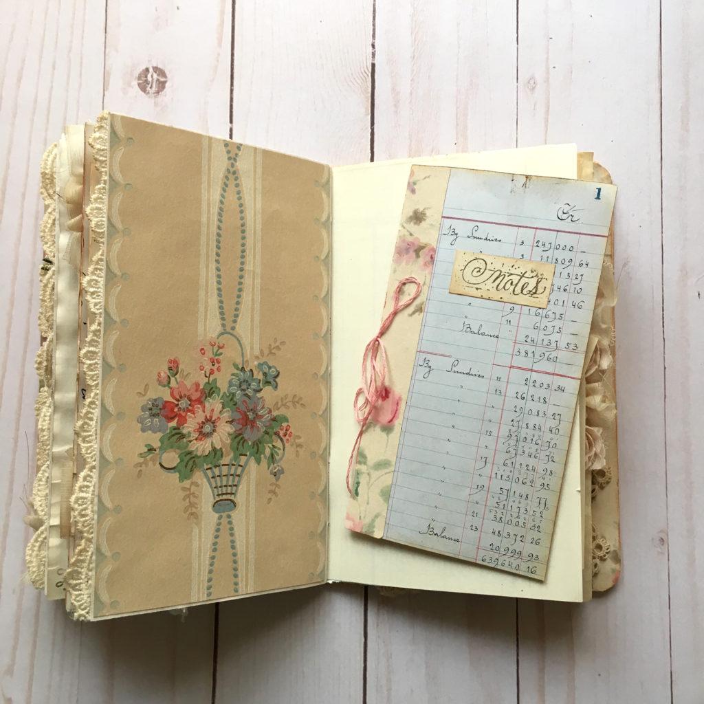 Ladies Keepsake Handmade Book