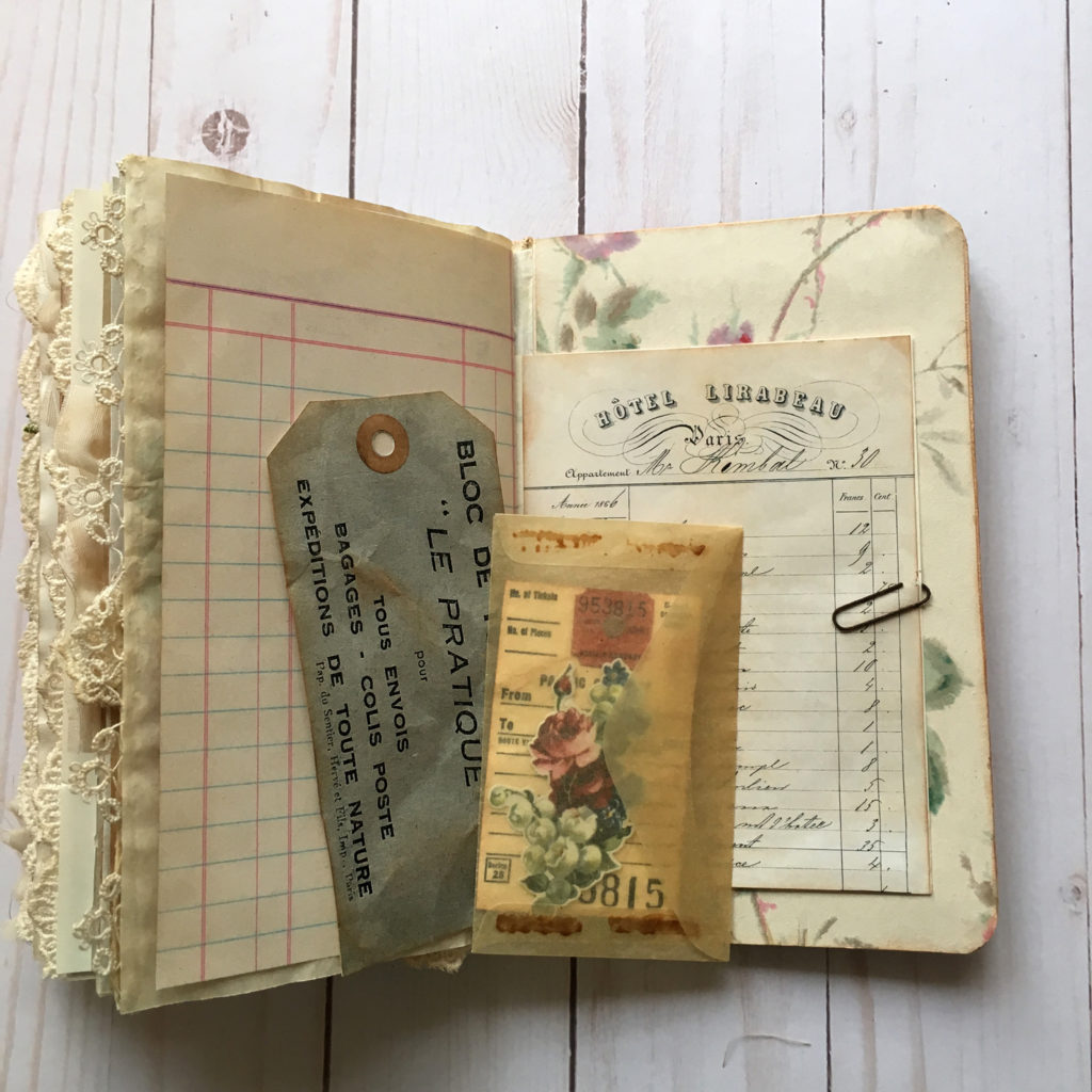 Page Layout for Handmade Journal