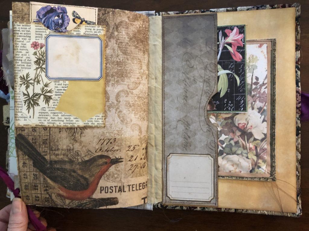 Vintage themed Art Journal