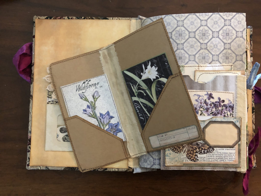 Page layout from Garden Journal