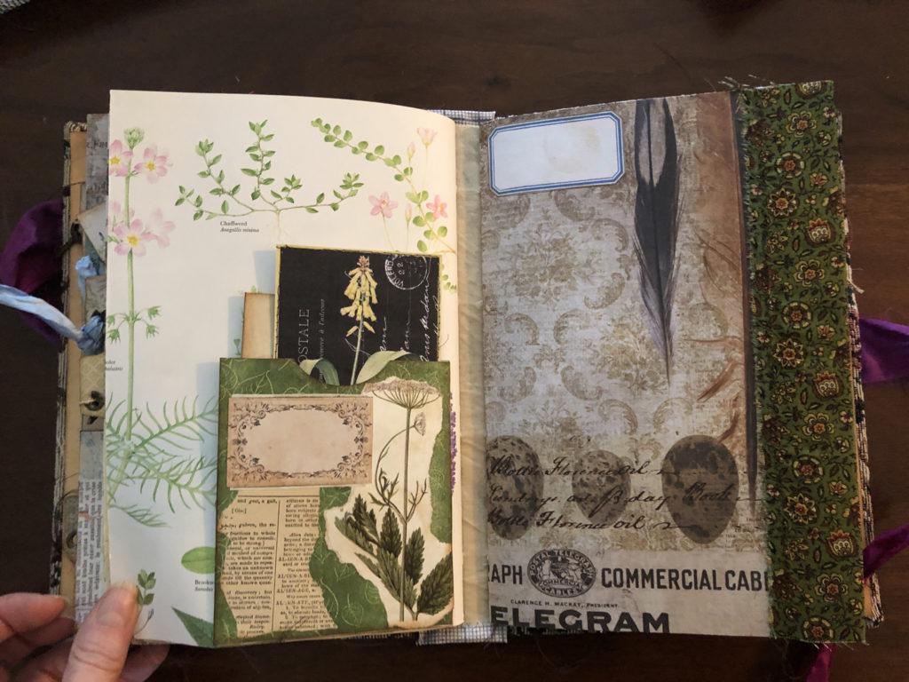 Garden themed Smashbook