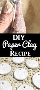 DIY Paper Clay Recipe