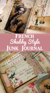French Shabby Style Junk Journal