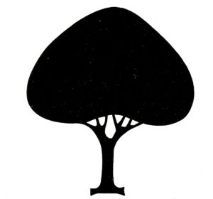 Simple Stylized Tree Clipart