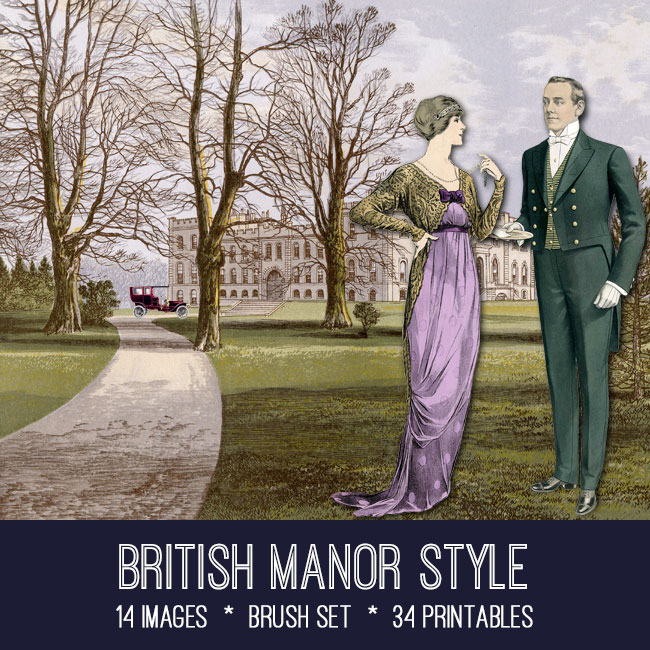 british manor style images