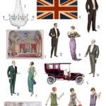 british manor style digital image bundle