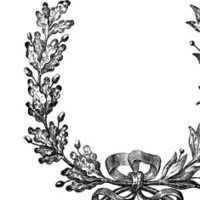 French Wreath with bow