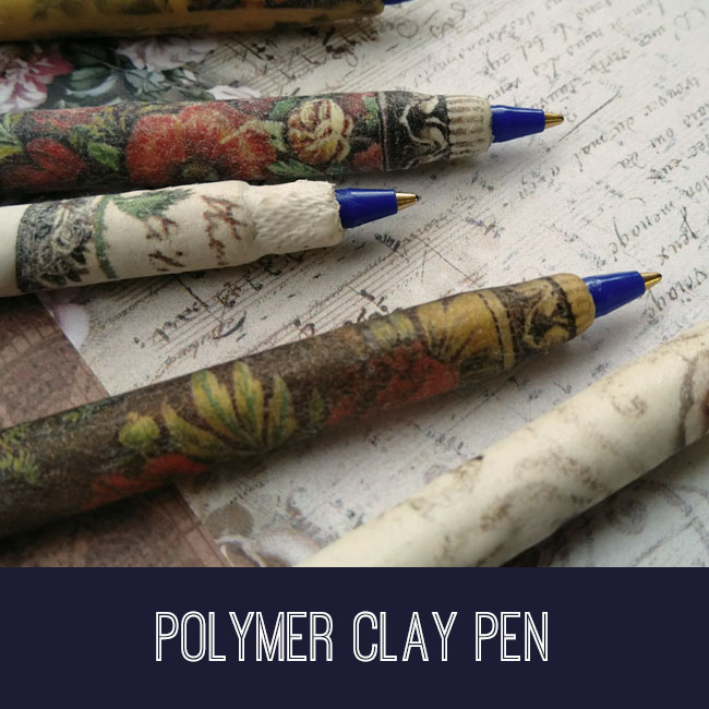 Polymer Clay Pen Tutorial