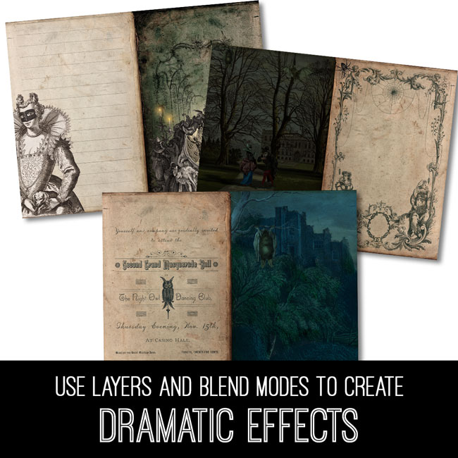 PSE Tutorial Use Layers and Blend Modes to Create Dramatic Effects