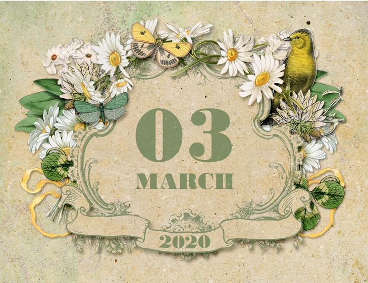free printable calendar 2020  u2013 cd case calendar
