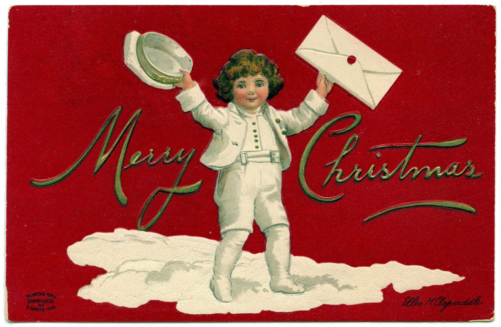 Christmas Lad Delivery Letter Image