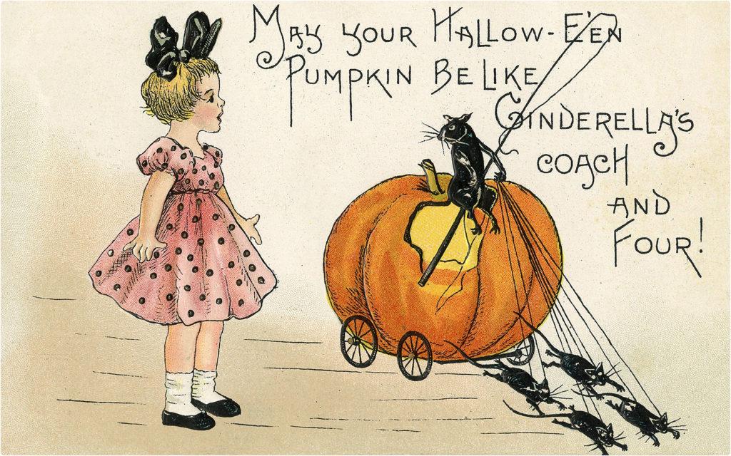 Halloween Pumpkin Carriage Image