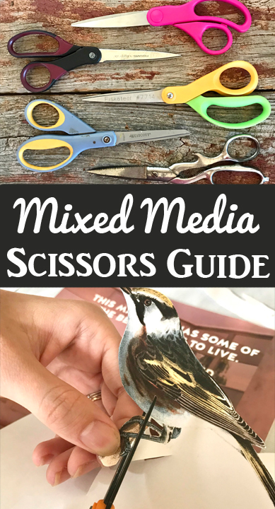 Scissors Guide for Mixed Media