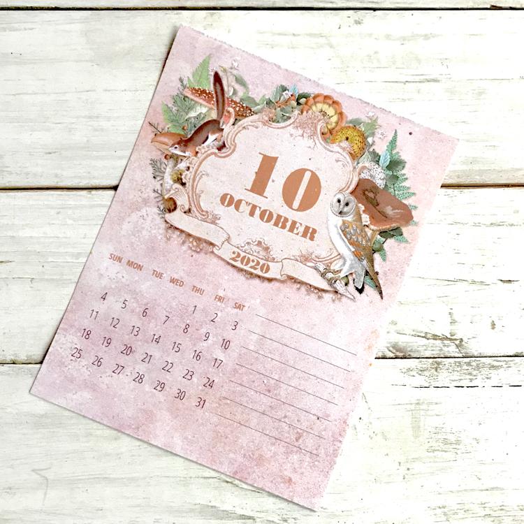 Single Calendar Page