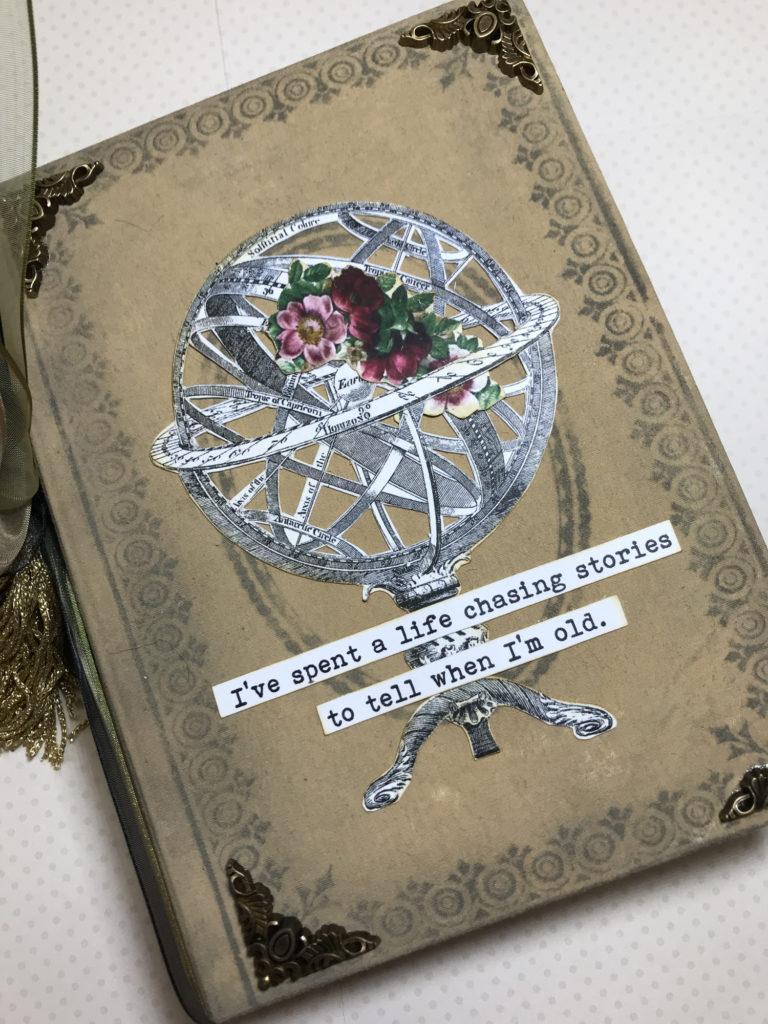 Steampunk Junk Journal Cover