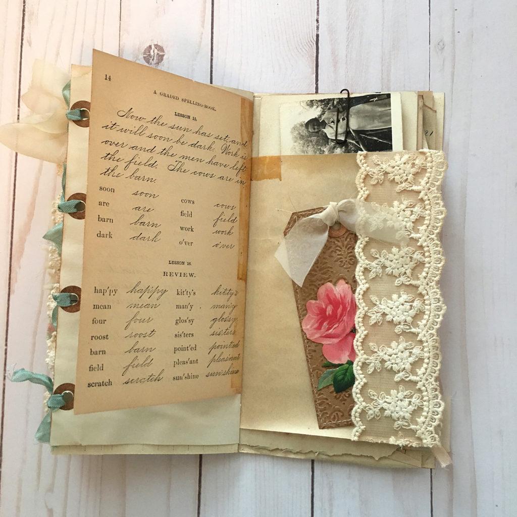 Vintage Ephemera Notbook