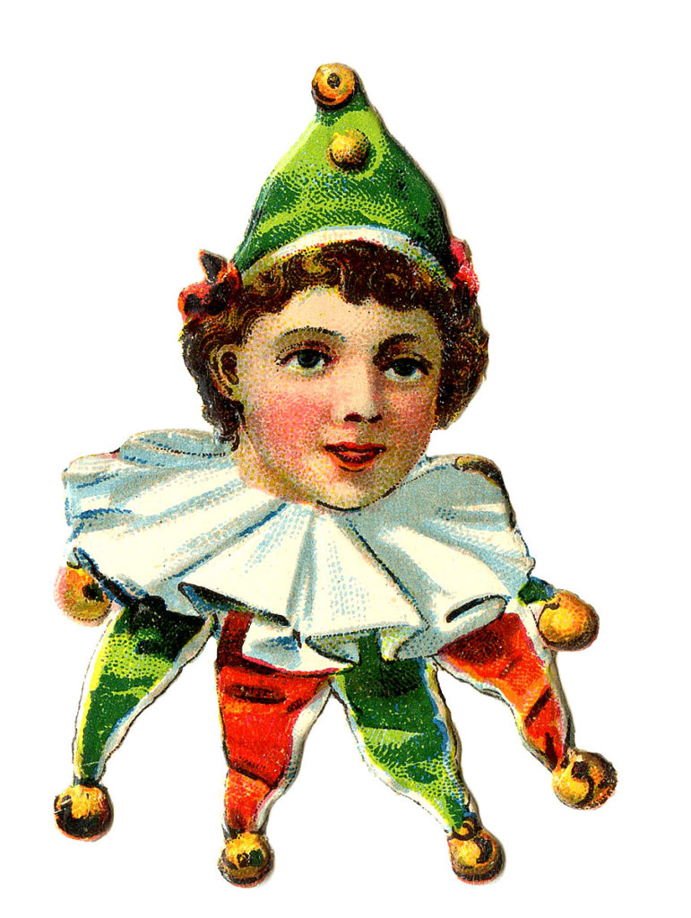 Elf Clown Harlequin Image