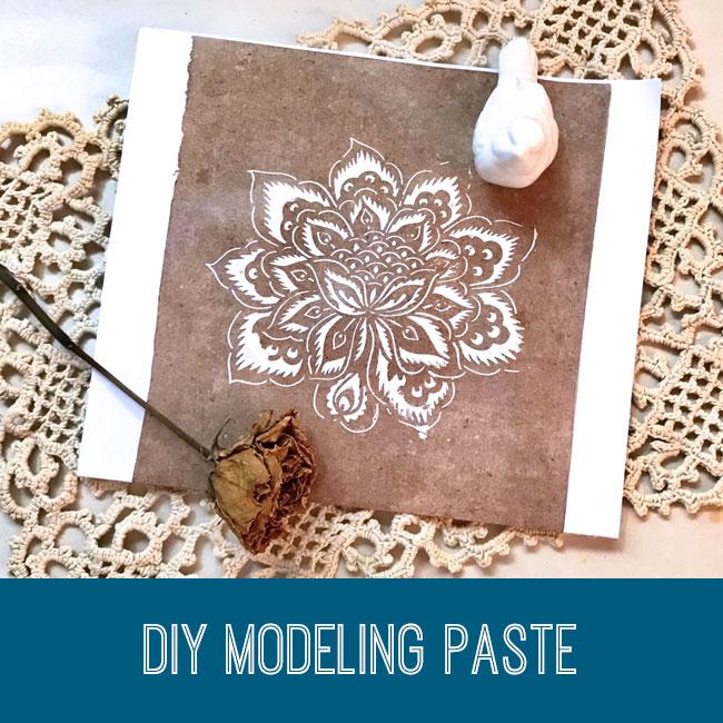 DIY Modeling Paste Tutorial