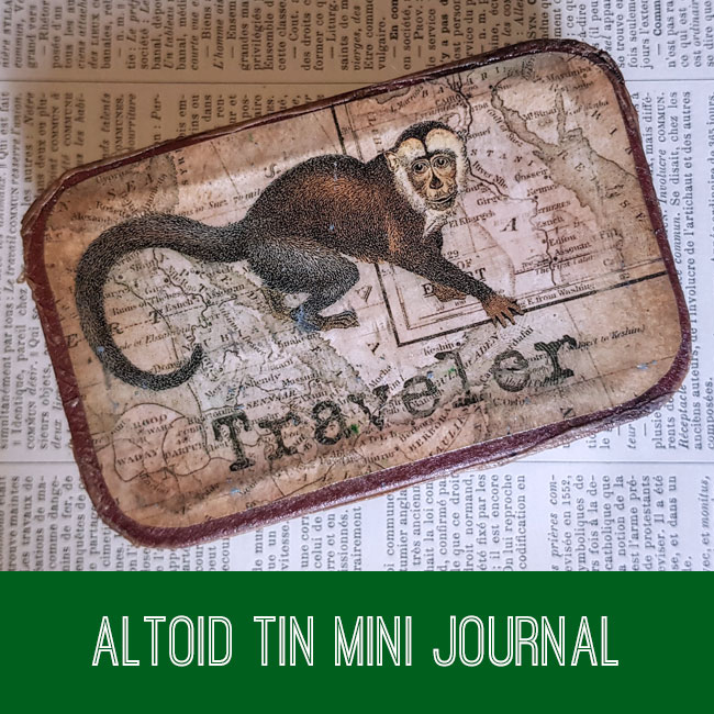 Altoid Tin Mini Journal Tutorial