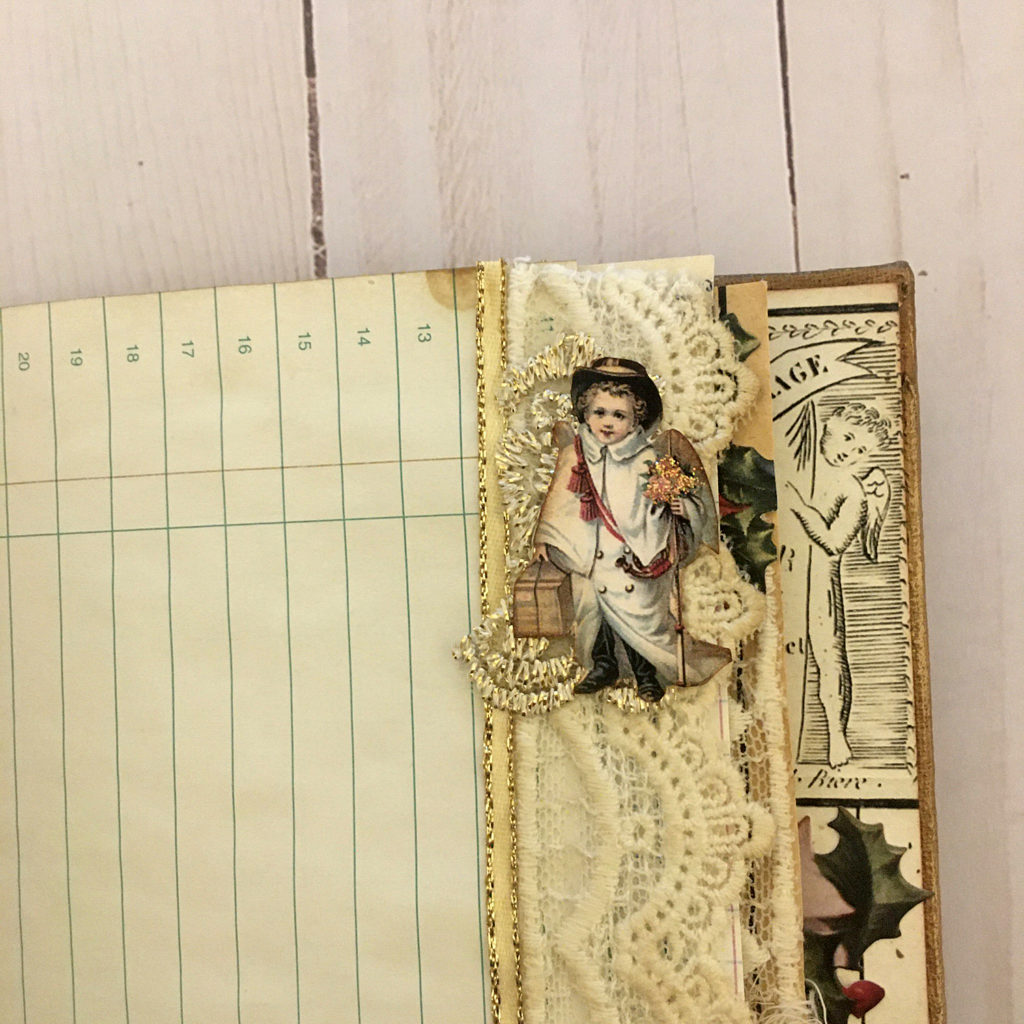 Snippet Roll in Junk Journal