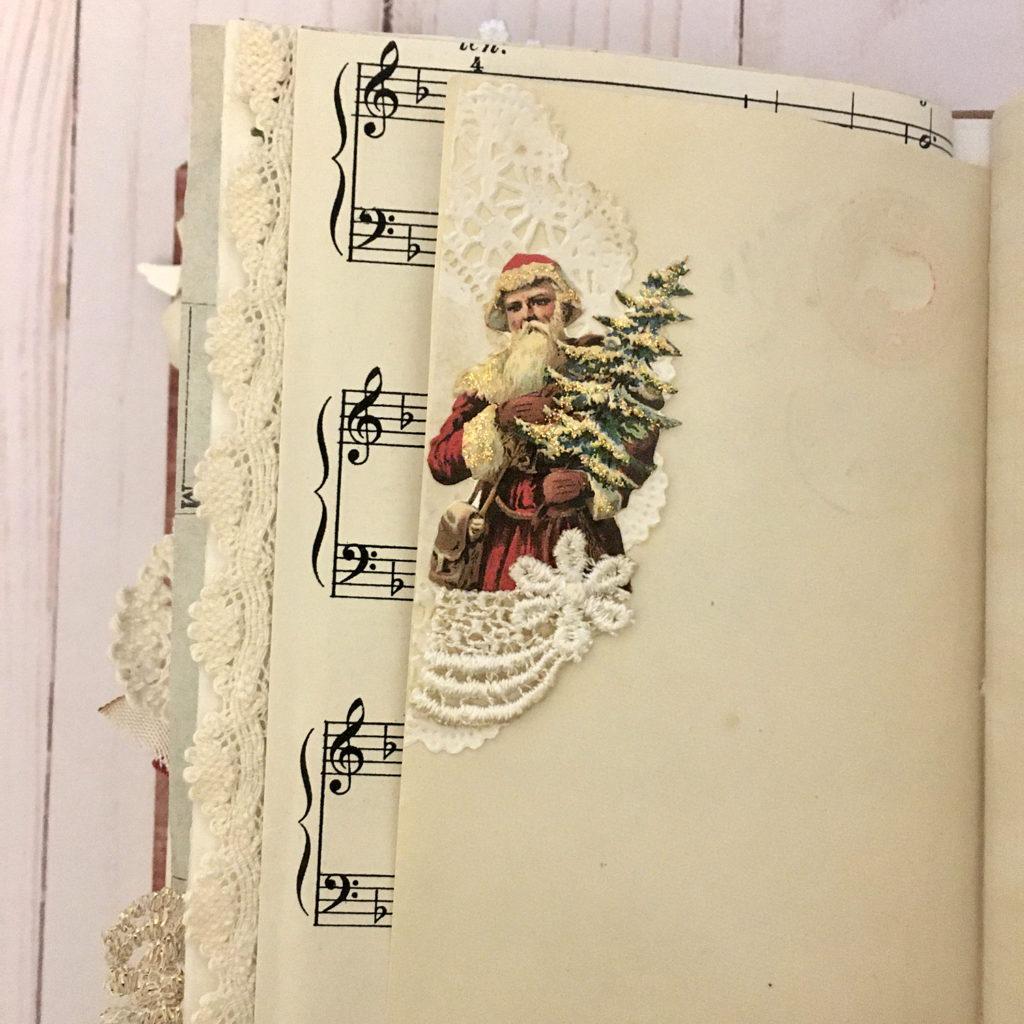 Vintage Christmas Ephemera Junk Journal