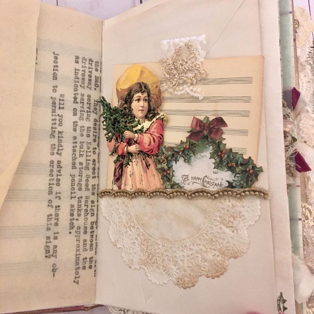 Christmas Glue Book