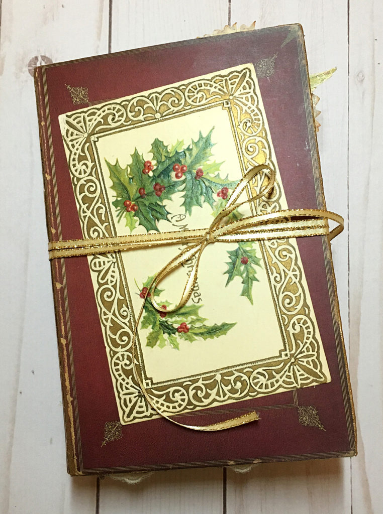 Christmas Junk Journal Cover
