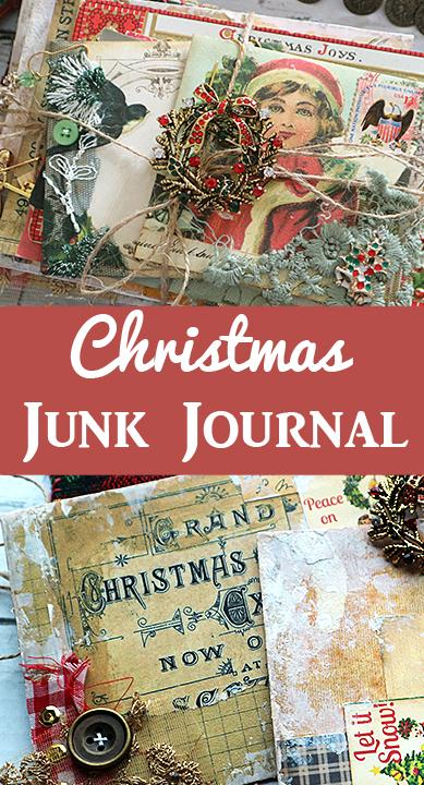 Christmas Junk Journal Luna Rozu