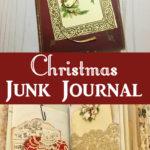 Christmas Junk Journal Pin