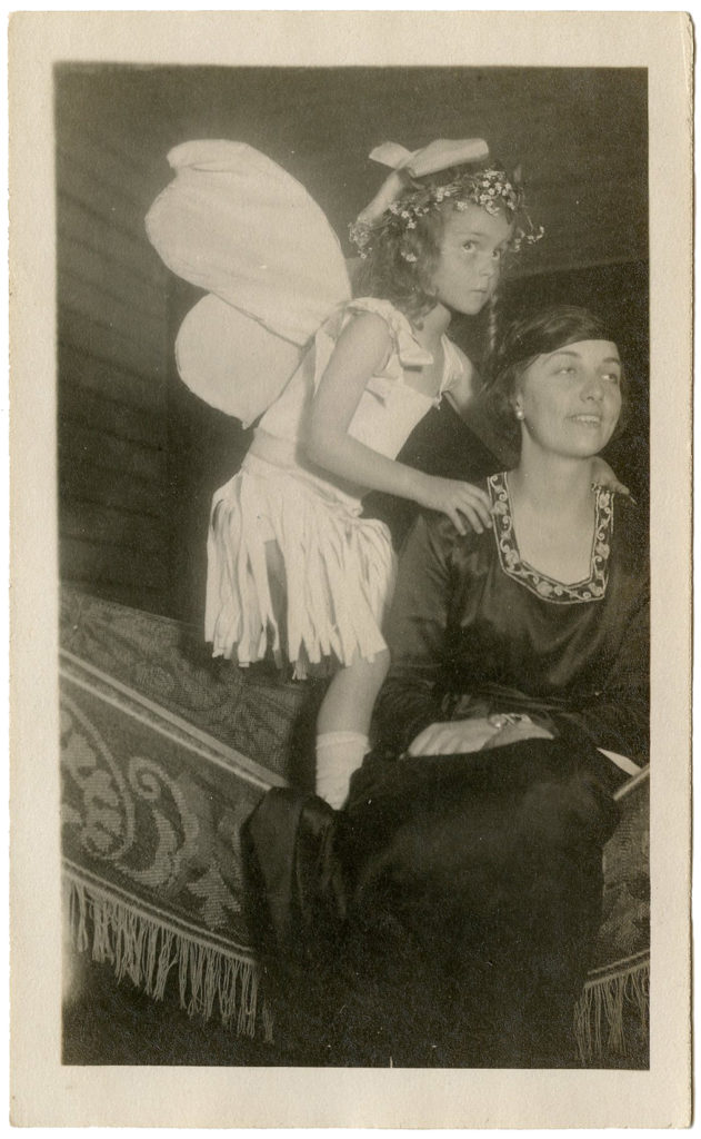 fairy girl costume vintage photograph image