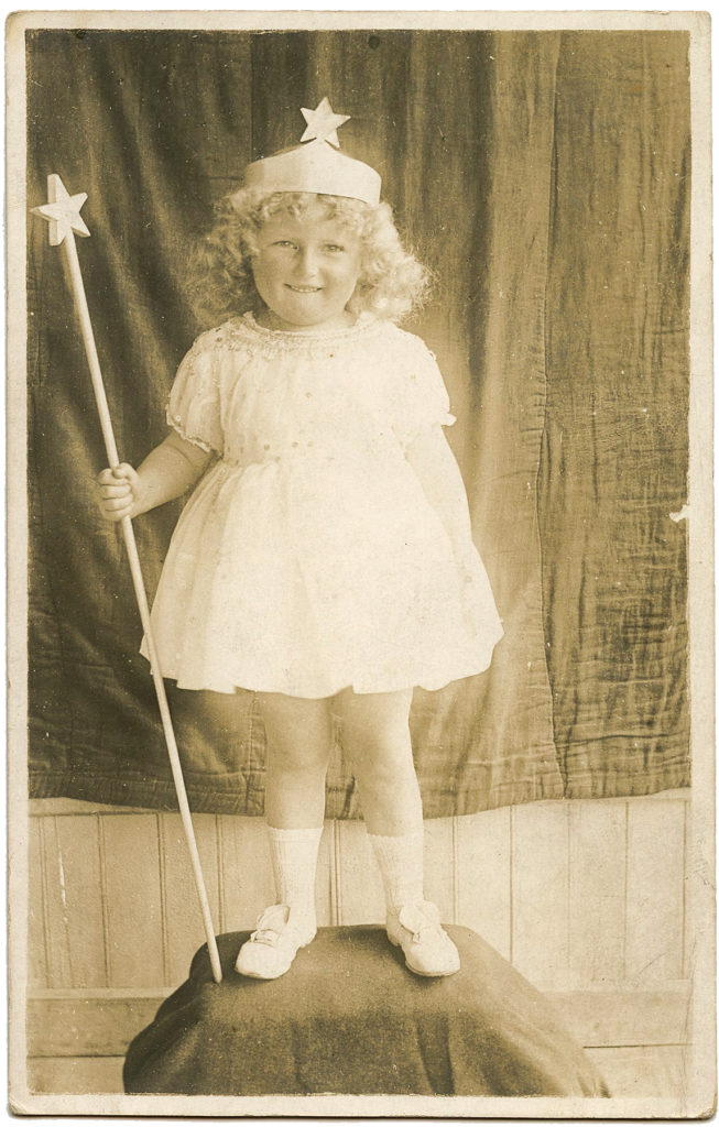 fairy princess vintage photo photograph image