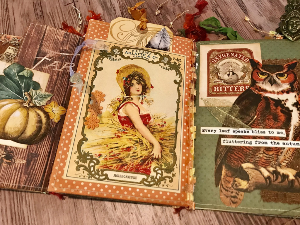 Vintage Autumn Junk Journal